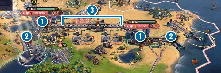 Canal - new infrastructure in Civ 6 Gathering Storm - Sid