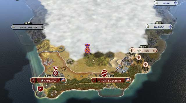 Towards the end of the 19th Century, the colonial empires such as England, Portugal or France had a large portion of the World under their control - Scramble for Africa - Scenarios - Sid Meiers Civilization V - New Brave World - Game Guide and Walkthrough