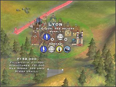 Scenario 6 - France | Game scenarios - Sid Meier's Railroads! Game