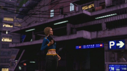 In the pointed place you meet Amanda - Amanda - Walkthrough - Sleeping Dogs - Game Guide and Walkthrough