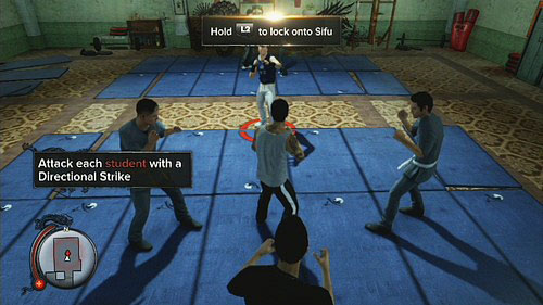 When you get to the last place, the short training begins - Amanda - Walkthrough - Sleeping Dogs - Game Guide and Walkthrough