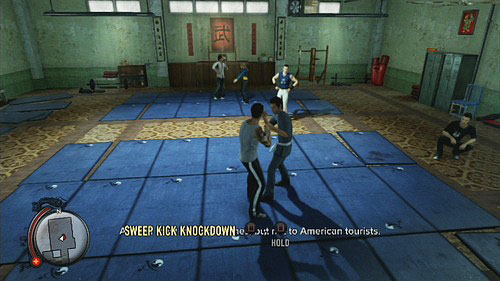 A moment later youll learn a sweep kick - Amanda - Walkthrough - Sleeping Dogs - Game Guide and Walkthrough