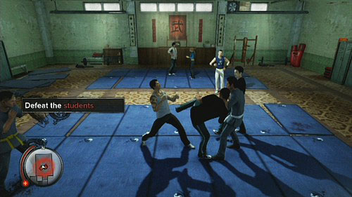 The last one task is to defeat a group of students - Amanda - Walkthrough - Sleeping Dogs - Game Guide and Walkthrough