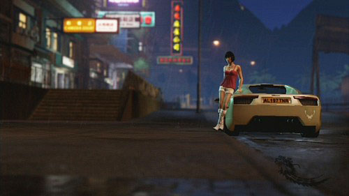 After conversation with Sandra, you will be driving a sport car - Dates - Other - Sleeping Dogs - Game Guide and Walkthrough