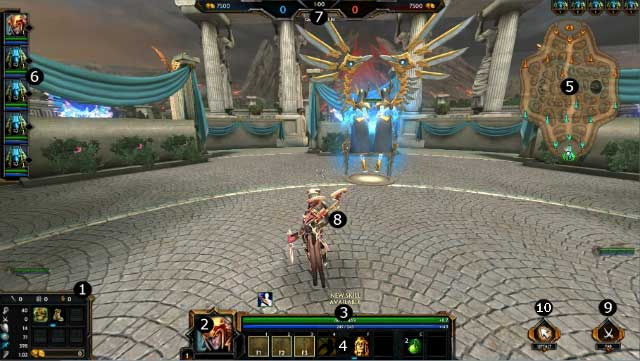 Interface Of The Game