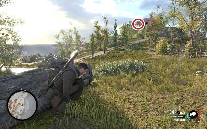 Your main target is a commander located on the other part of the island, in a large mansion - Schmidts assassination | Mission 1: San Celini Island - Mission 1: San Celini Island - Sniper Elite 4 Game Guide
