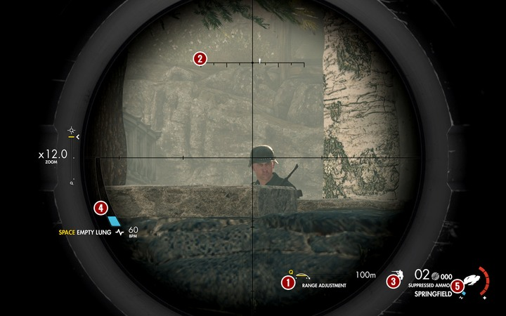 Mastering the sniper rifle, the essential tool for completing many objectives on higher difficulty levels, can be a true challenge - Using the sniper rifle in Sniper Elite 4 - Tips - Sniper Elite 4 Game Guide