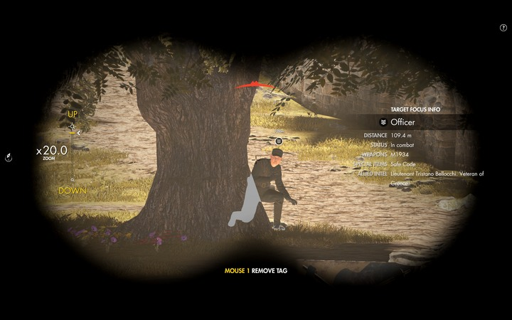 Mark your targets longer to learn additional details - Using the sniper rifle in Sniper Elite 4 - Tips - Sniper Elite 4 Game Guide