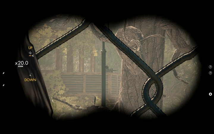 Sniper on the watchtower - he does not observe the road at all times - Finding the cache and the ammo truck | Mission 3: Regilino Viaduct - Mission 3: Regilino Viaduct - Sniper Elite 4 Game Guide