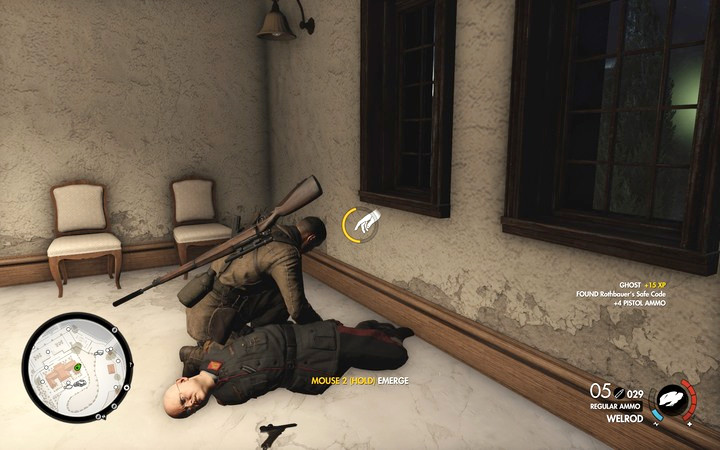 One of the mission objectives is to assassinate Rothbauer - Mission information | Mission 7: Giovi Fiorini Mansion - Mission 7: Giovi Fiorini Mansion - Sniper Elite 4 Game Guide