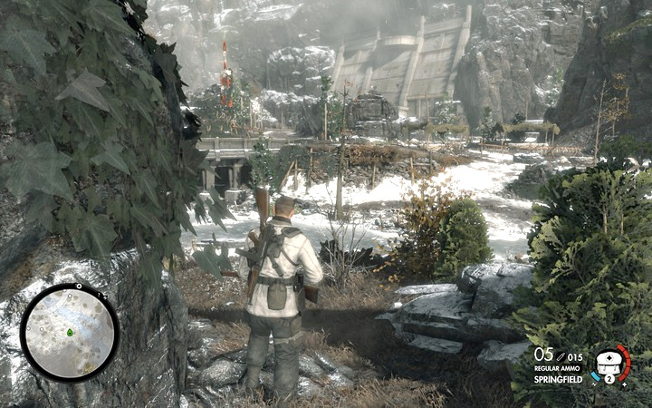 It is daylight, few obstacles and the hearing and sight of your opponents is hightened - Mission information | Mission 8: Allagra Fortress - Mission 8: Allagra Fortress - Sniper Elite 4 Game Guide