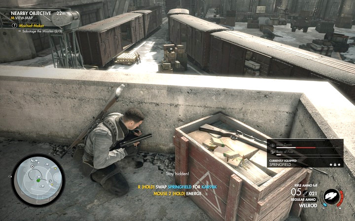Blow up the rest of the rockets. There are three of them scattered around the yard - Tank 5, rockets 3 and 4 | Mission 8: Allagra Fortress - Mission 8: Allagra Fortress - Sniper Elite 4 Game Guide