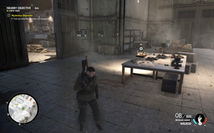 The evidence that you must take - Learn about the content of the shipments | Mission 4: Lorino Dockyard - Mission 4: Lorino Dockyard - Sniper Elite 4 Game Guide