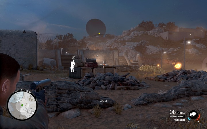 The officer is in front of the bunker (M6,8) - he is one of the main objectives - The second, third and fourth coastal cannon | Mission 6: Magazzeno Facility - Mission 6: Magazzeno Facility - Sniper Elite 4 Game Guide