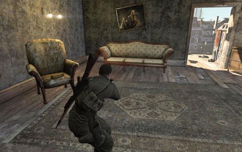 mission 1 wine bottles and gold bars sniper elite v2 game guide