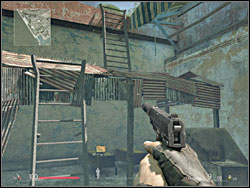 You'll obtain the first laptop (1) right in the beginning of a gameplay - it is located under the ladders, which you use to climb to the roof of the building - Chapter 13 - A Marksman At His Best - Intel data - Sniper: Ghost Warrior - Game Guide and Walkthrough