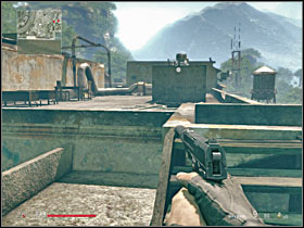 how to get on roof ghost town sniper elite 3
