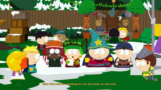Nobody can read the list - Forging Alliances - Walkthrough - South Park: The Stick of Truth - Game Guide and Walkthrough