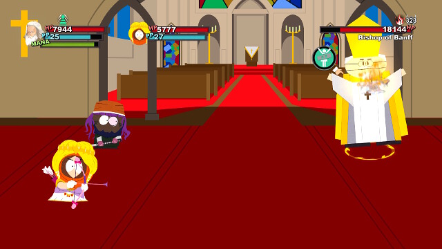 The fight with the chaplain - Forging Alliances - Walkthrough - South Park: The Stick of Truth - Game Guide and Walkthrough