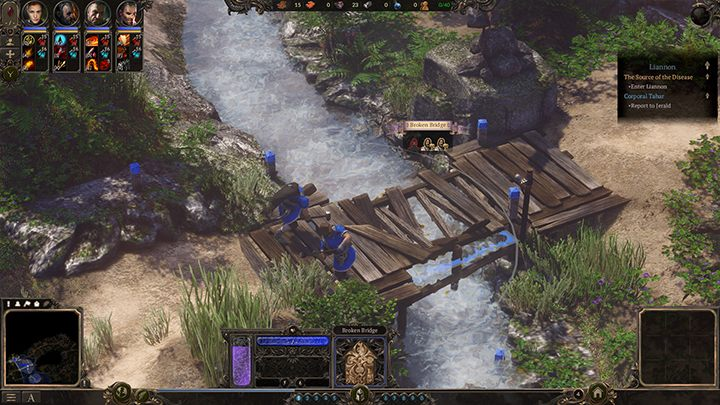 Fix the northern bridge as soon as possible - it will be useful later. - Liannon - The Source of the Disease | Campaign in Spellforce 3 - Campaign - SpellForce 3 Game Guide