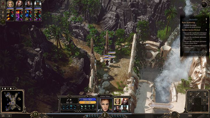 This side path allows you to go around enemies and get behind their backs. - Mulandir - Rude Awakening | Campaign in SpellForce 3 - Campaign - SpellForce 3 Game Guide