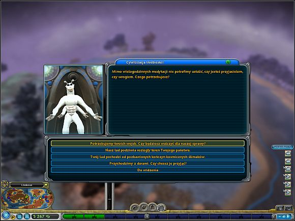 diplomacy civilisation stage spore game guide gamepressure com