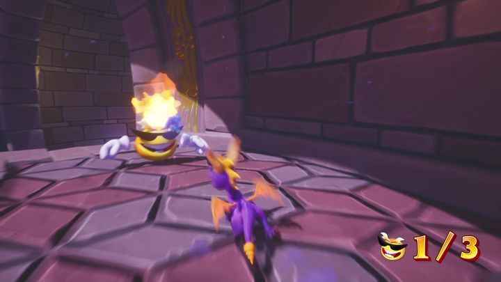 There is also a teleport on this platform - Cloud Spires | Spyro: Year of the Dragon Walkthrough - Sunrise Spring - Spyro Reignited Trilogy Guide