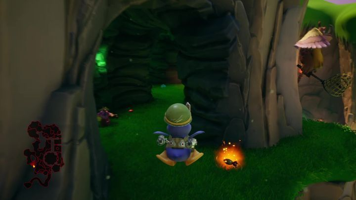 At this stage, you only have to finish collecting gems from all of the nooks and crannies adjacent to the final location - Sgt. Byrds Base | Spyro: Year of the Dragon Walkthrough - Midday Gardens - Spyro Reignited Trilogy Guide