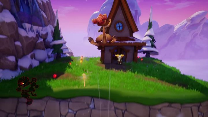 Bobby lives at the end of this location - Eggs - Secrets and mysteries - Spyro Reignited Trilogy Guide