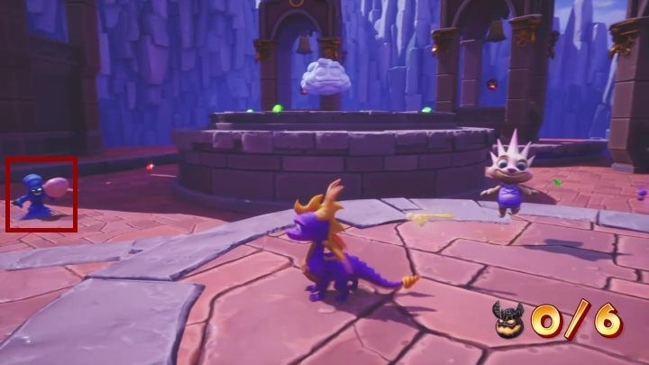 A thief is in the same place where you eliminated the ghosts - Eggs - Secrets and mysteries - Spyro Reignited Trilogy Guide