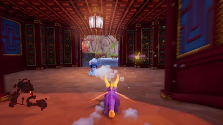 A thief will appear on the map after you open the bridge - Eggs - Secrets and mysteries - Spyro Reignited Trilogy Guide