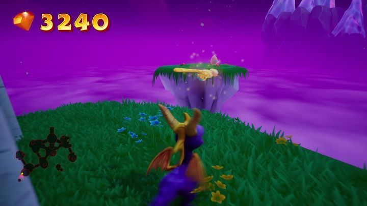 You will find the stairs to the left from the starting location - Eggs - Secrets and mysteries - Spyro Reignited Trilogy Guide