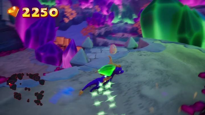 Using Superfly Powerup, reach the roof of the building that you enter after jumping off the starting location - Eggs - Secrets and mysteries - Spyro Reignited Trilogy Guide