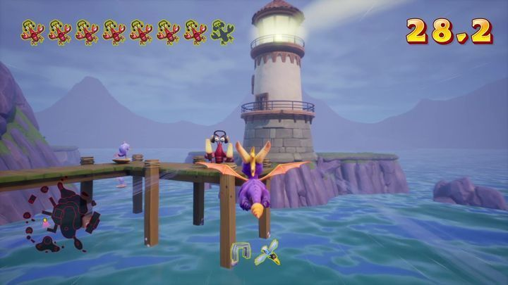 An easy task, just like the previous Time Attacks - Harbor Speedway | Spyro: Year of the Dragon Walkthrough - Midnight Mountain - Spyro Reignited Trilogy Guide
