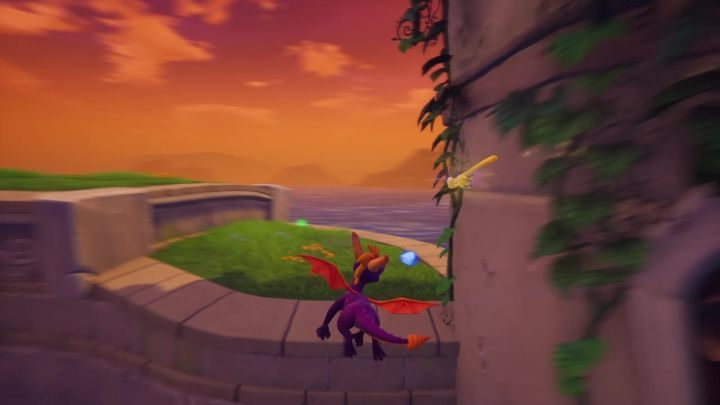 Then go back to the steps that you have used on your way here - Town Square | Spyro The Dragon Walkthrough - Artisans - Spyro Reignited Trilogy Guide