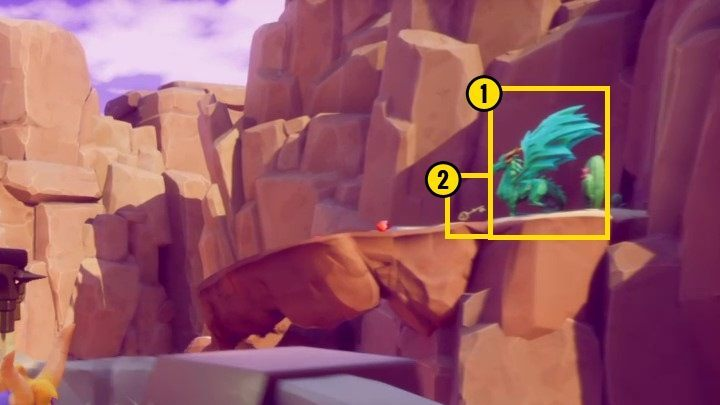 You will find the chest itself near the gorge through which you got to your current location - Dry Canyon | Spyro The Dragon Walkthrough - Peace Keeper - Spyro Reignited Trilogy Guide