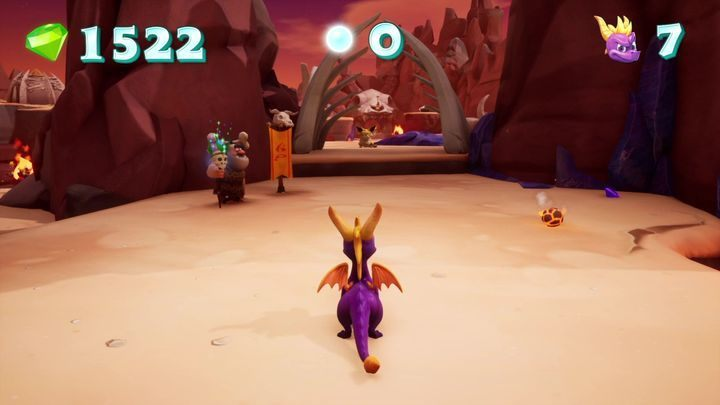 Then head in the right direction - Skelos Badlands | Spyro 2 Riptos Rage Walkthrough - Autumn Plains - Spyro Reignited Trilogy Guide