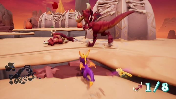 You will have to liquidate them as soon as they hatch - Skelos Badlands | Spyro 2 Riptos Rage Walkthrough - Autumn Plains - Spyro Reignited Trilogy Guide