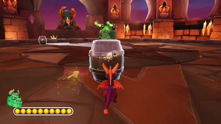 Of course, Gulp will constantly launch counterattacks - Gulp | Spyro 2: Riptos Rage! Boss Fight - Bosses - Spyro Reignited Trilogy Guide