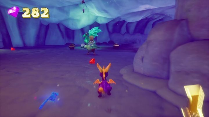 Ragnar is definitely the most hidden dragon in this level - Dragons | Secrets & Curios in Spyro Reignited Trilogy - Secrets & Curios - Spyro Reignited Trilogy Guide