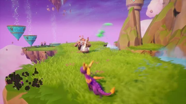 Commentary: One of the islands has three Armored Fools standing in a row - List of Trophies in Spyro Reignited Trilogy - Basics - Spyro Reignited Trilogy Guide