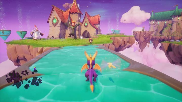 You can eliminate an ordinary fool with fire, there may be a problem with the armored one - Dream Weavers | Spyro The Dragon Walkthrough - Dream Weavers - Spyro Reignited Trilogy Guide