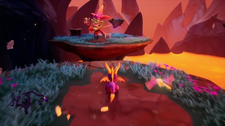 In the case of this fight, precision is very important - Jacques - Bosses - Spyro Reignited Trilogy Guide
