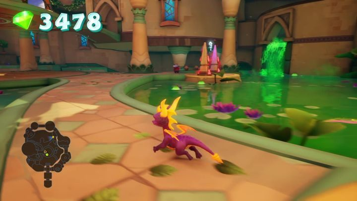 How to unlock: Dont take any damage from the hazardous water in Shady Oasis - Trophies in Spyro 2: Riptos Rage! - Basics - Spyro Reignited Trilogy Guide