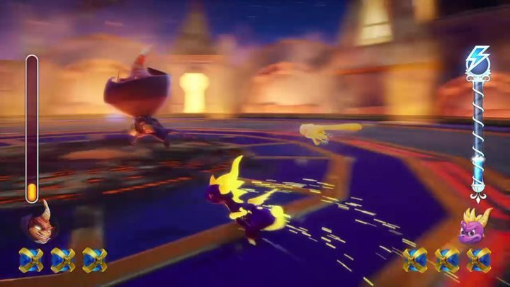 Collect three orbs to receive a specific powerup - Ripto | Spyro 2: Riptos Rage! Boss Fight - Bosses - Spyro Reignited Trilogy Guide