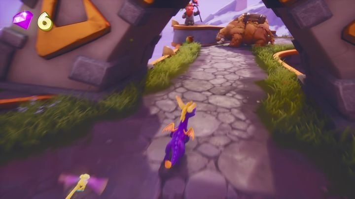 These enemies can only be defeated with fire - Alpine Ridge | Spyro The Dragon Walkthrough - Magic Crafters - Spyro Reignited Trilogy Guide