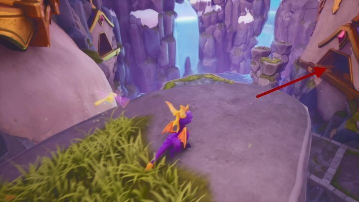 Fly towards the cave on the opposite side - Alpine Ridge | Spyro The Dragon Walkthrough - Magic Crafters - Spyro Reignited Trilogy Guide
