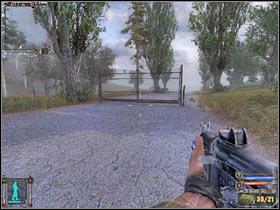 4 - Здесь вы встретите разрушенный мост и военный контрольно-пропускной пункт - Подробная карта - Кордон - STALKER: Shadow of Chernobyl - Руководство по игре и прохождение игры