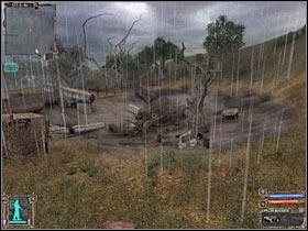 9 - Это второй военный контрольно-пропускной пункт - Подробная карта - Кордон - STALKER: Тень Чернобыля - Руководство по игре и прохождение игры