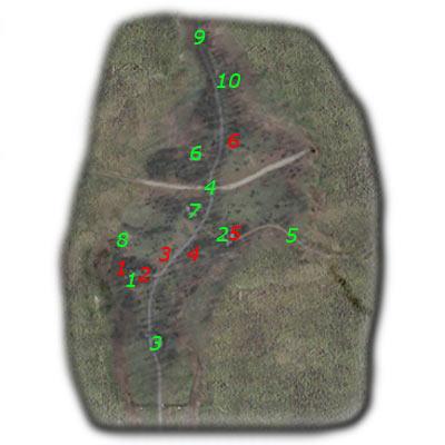 7 - Подробная карта - Кордон - STALKER: Тень Чернобыля - Руководство по игре и прохождение игры